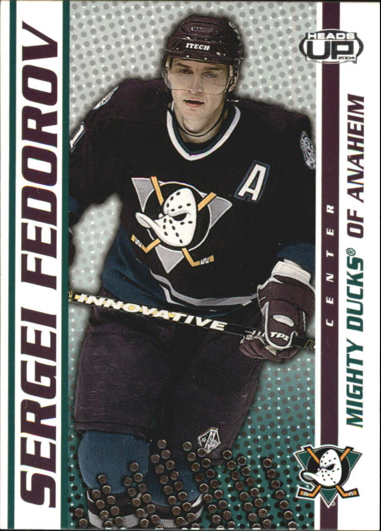 2003-04 Pacific Heads Up #1 Sergei Fedorov