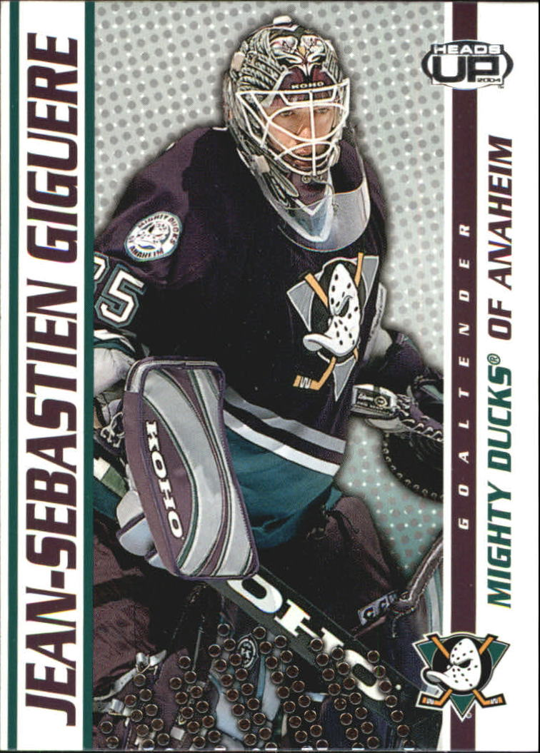 2003-04 Pacific Heads Up #2 Jean-Sebastien Giguere