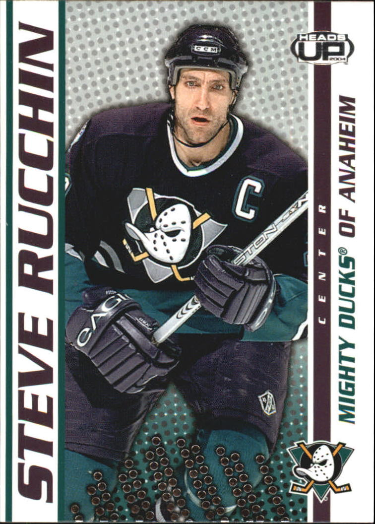2003-04 Pacific Heads Up #3 Steve Rucchin