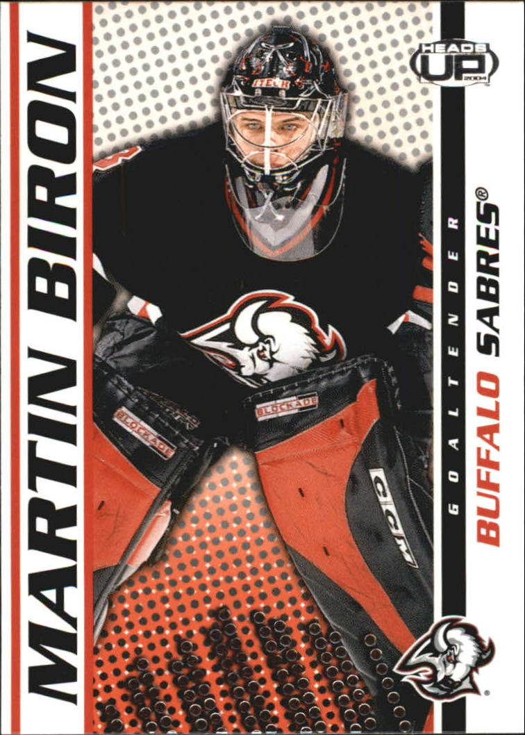 2003-04 Pacific Heads Up #11 Martin Biron