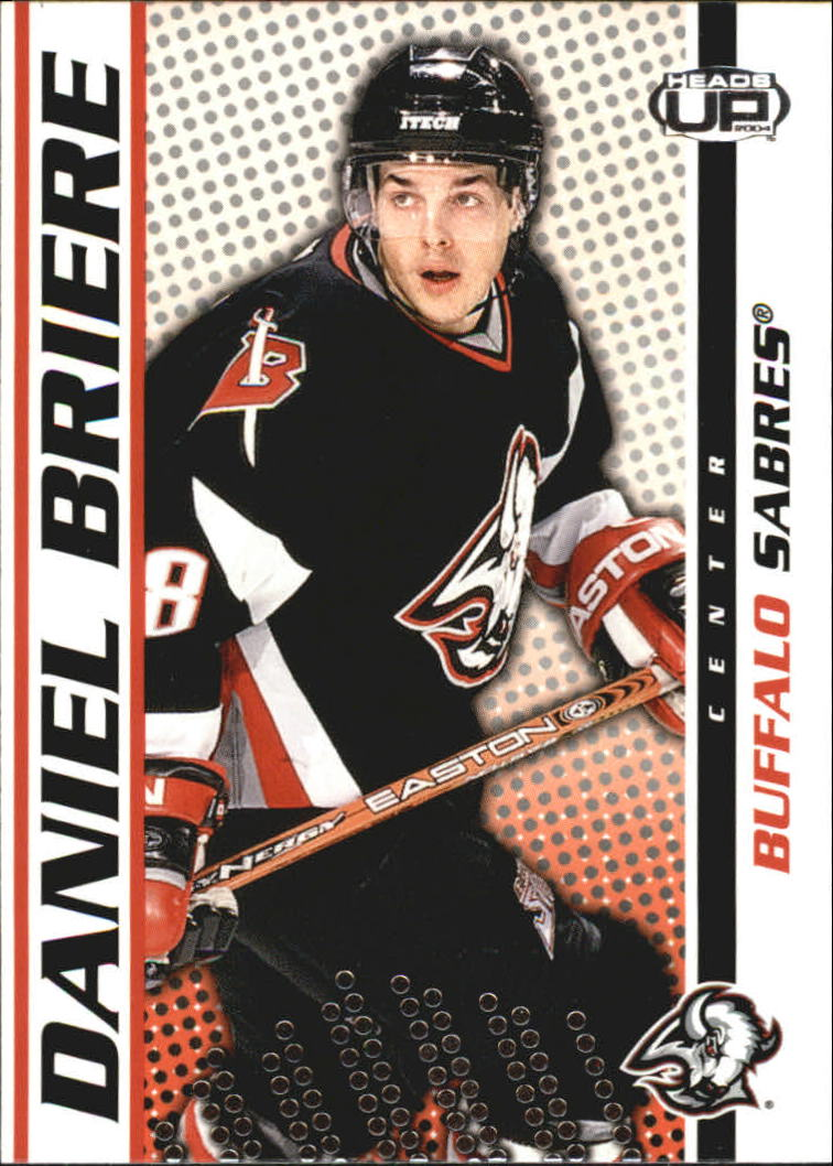 2003-04 Pacific Heads Up #12 Daniel Briere