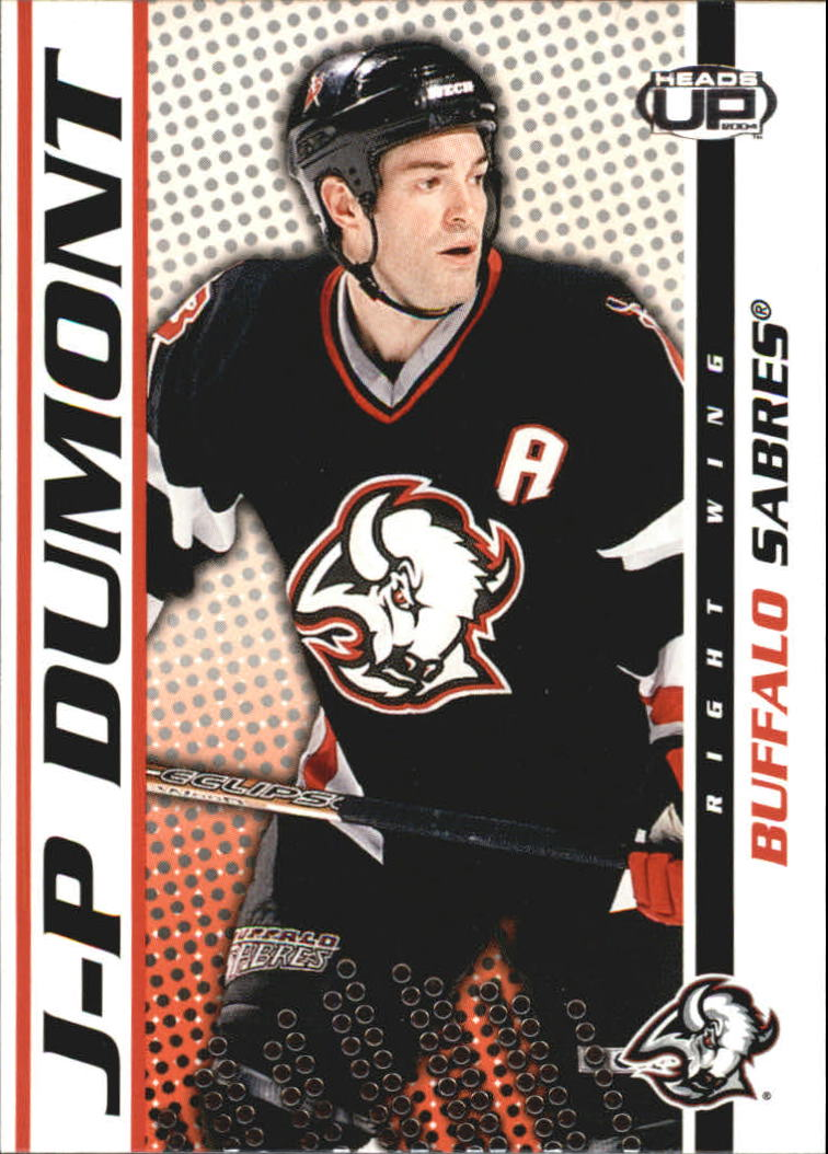 2003-04 Pacific Heads Up #13 J-P Dumont