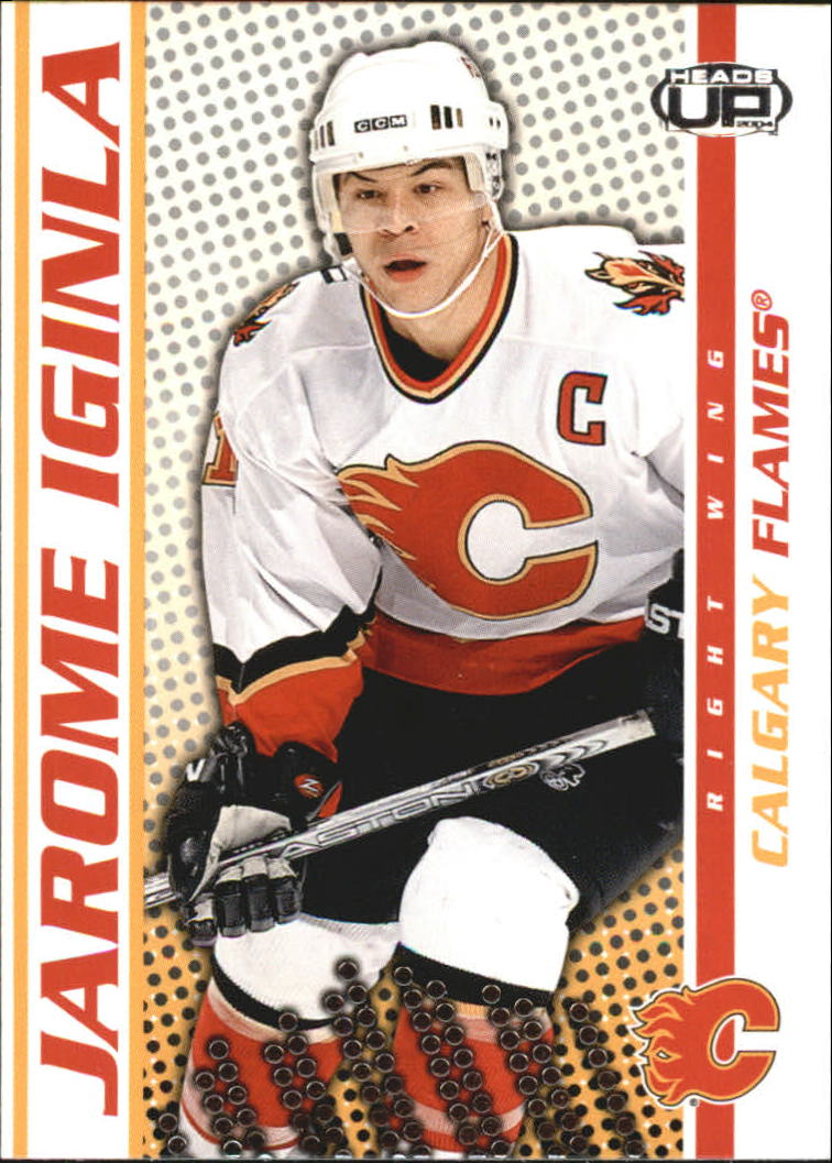 2003-04 Pacific Heads Up #14 Jarome Iginla