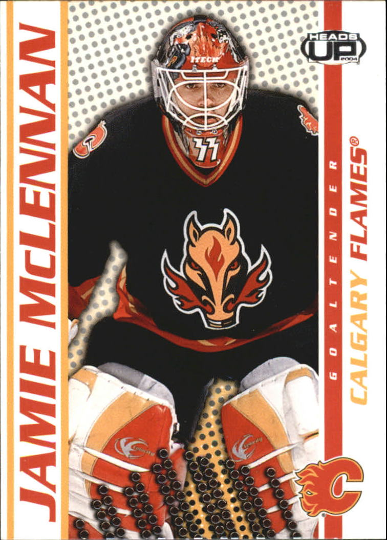 2003-04 Pacific Heads Up #15 Jamie McLennan