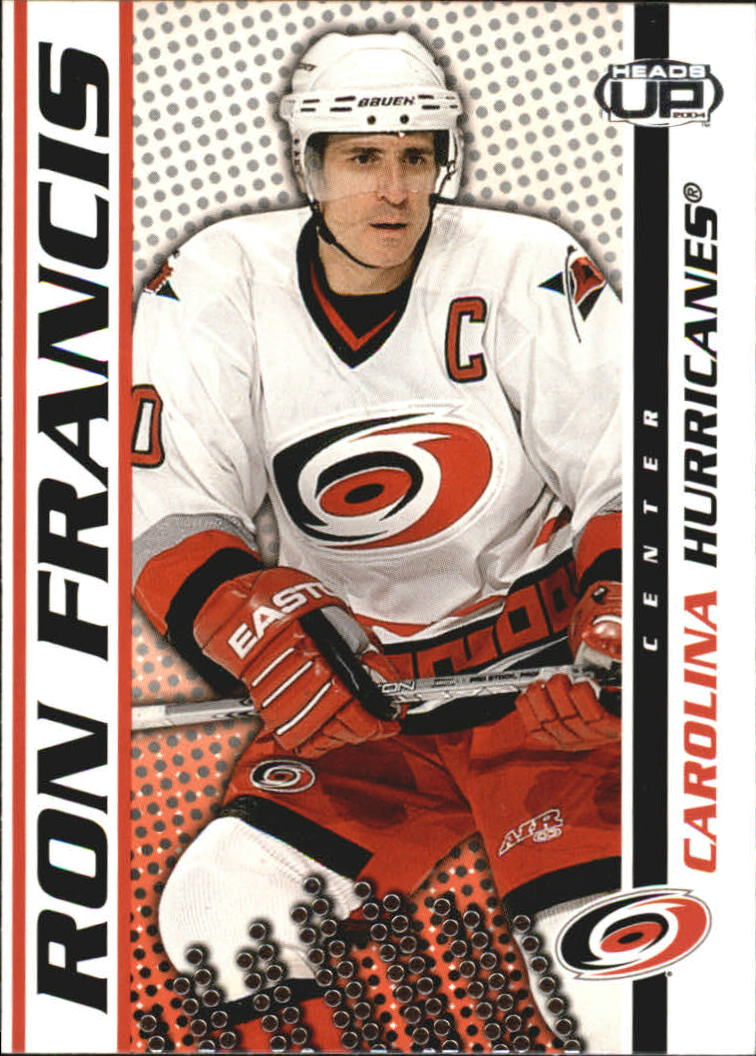 2003-04 Pacific Heads Up #17 Ron Francis