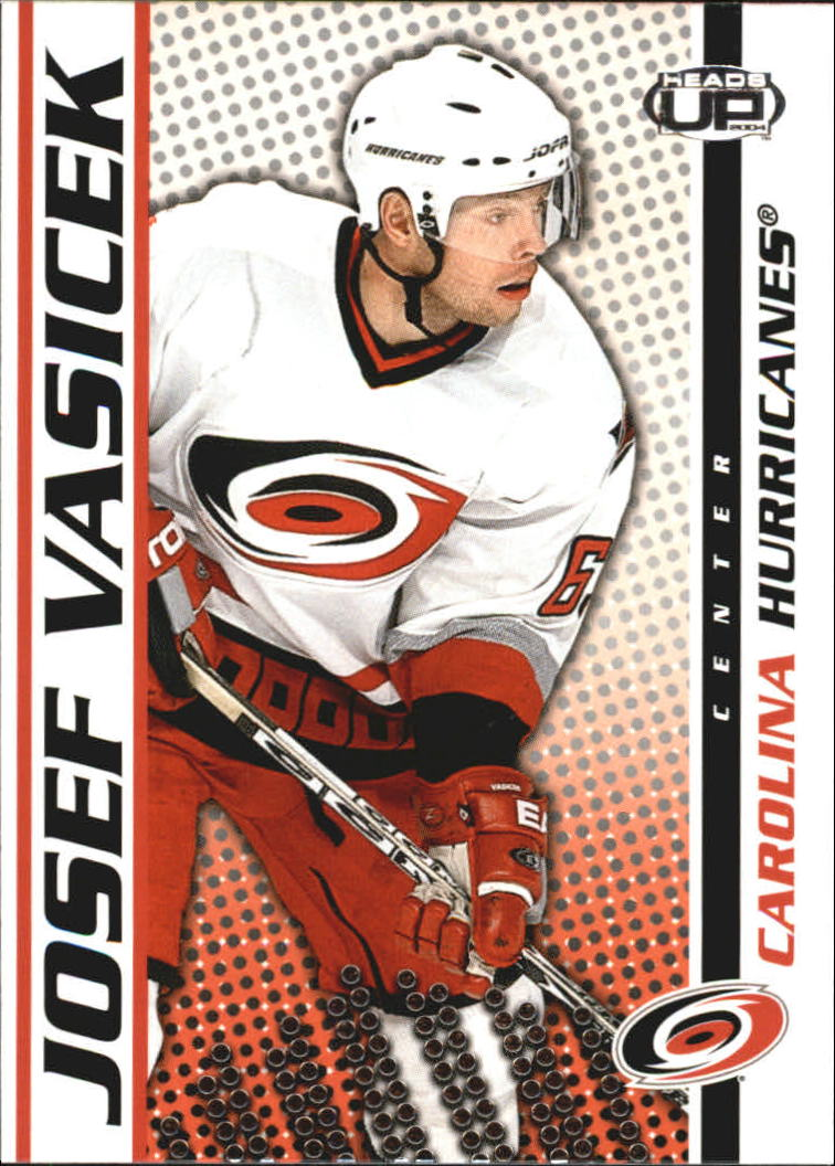 2003-04 Pacific Heads Up #18 Josef Vasicek