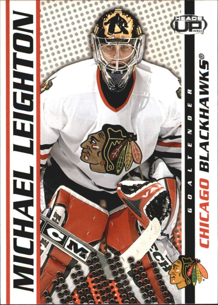 2003-04 Pacific Heads Up #21 Michael Leighton