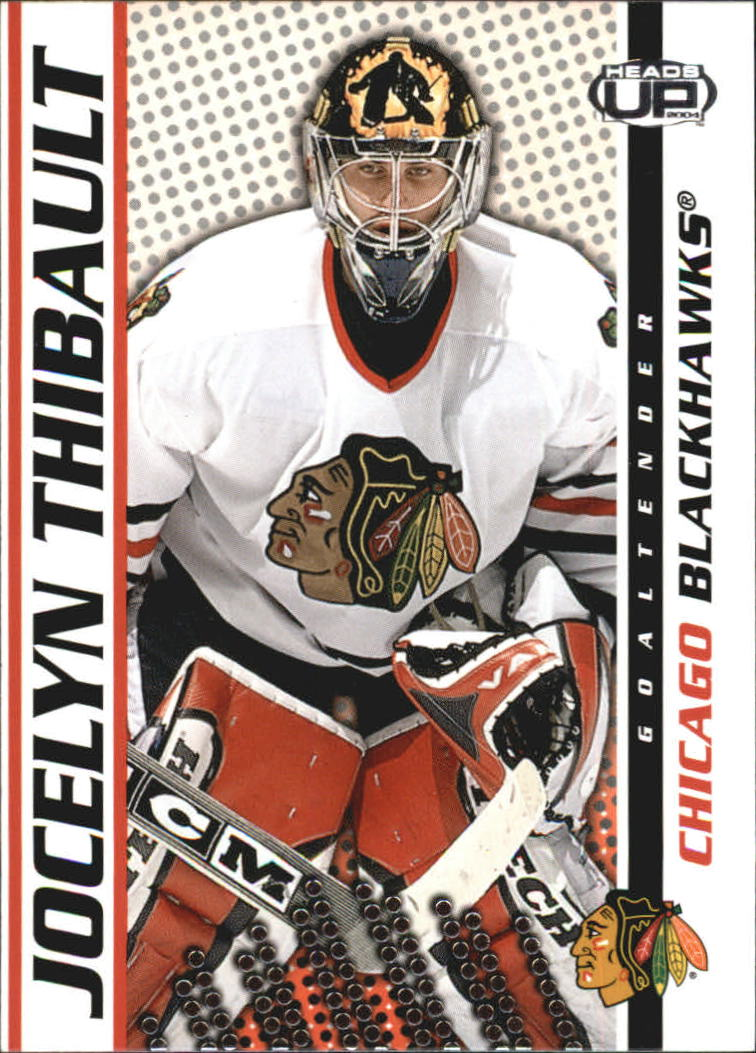 2003-04 Pacific Heads Up #22 Jocelyn Thibault UER