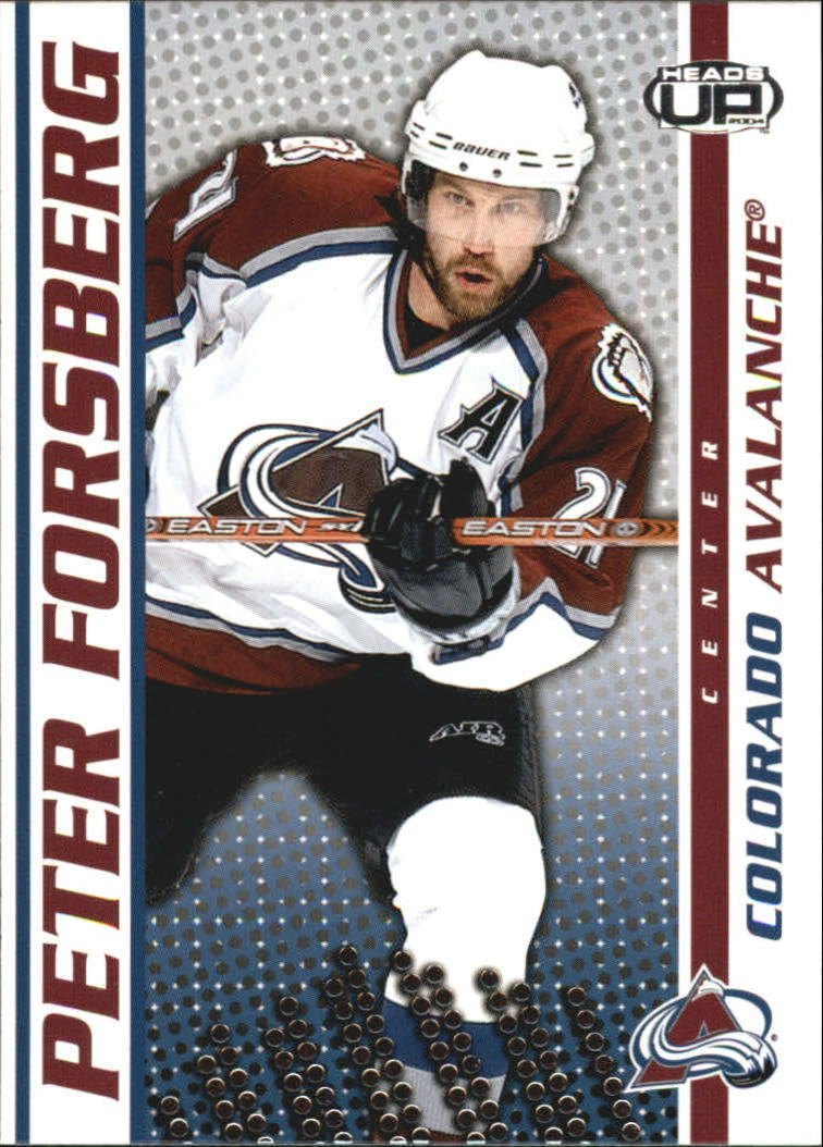 2003-04 Pacific Heads Up #24 Peter Forsberg