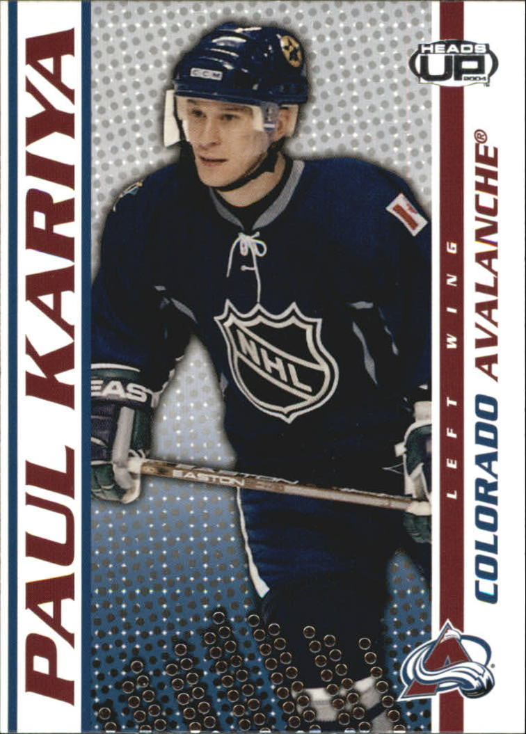 2003-04 Pacific Heads Up #25 Paul Kariya