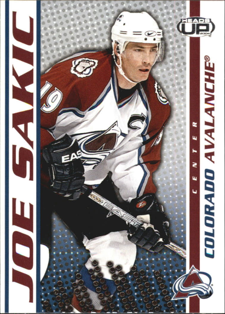 2003-04 Pacific Heads Up #26 Joe Sakic