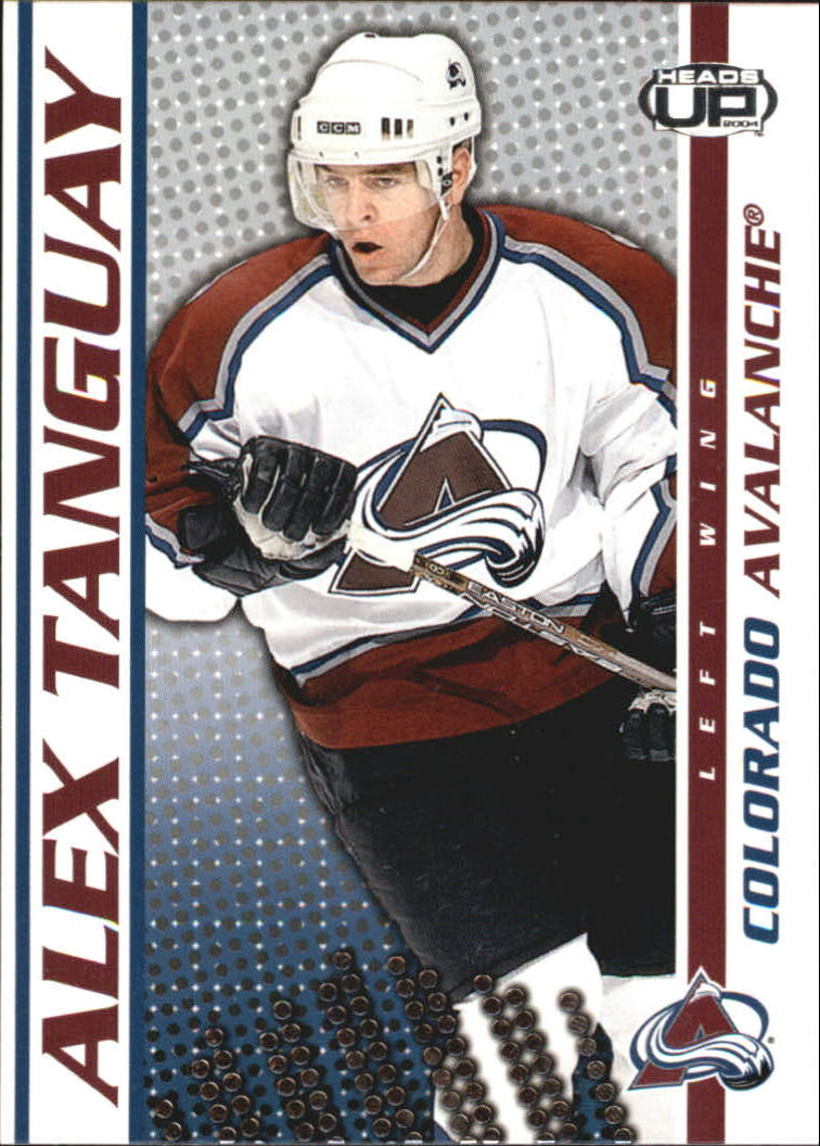 2003-04 Pacific Heads Up #27 Alex Tanguay
