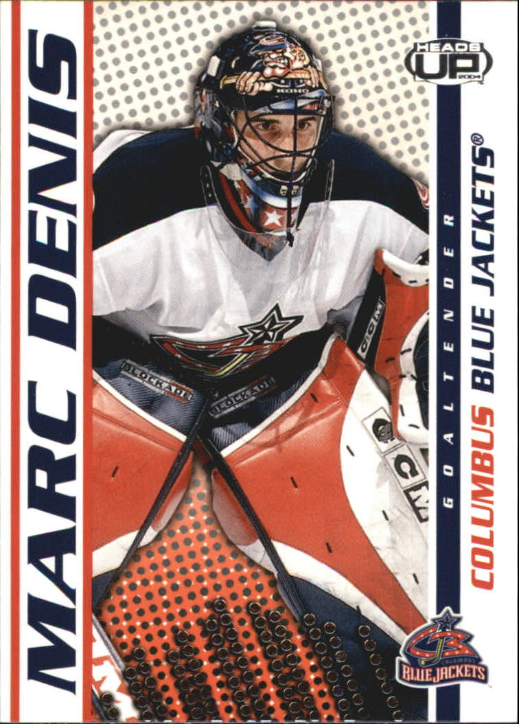 2003-04 Pacific Heads Up #28 Marc Denis