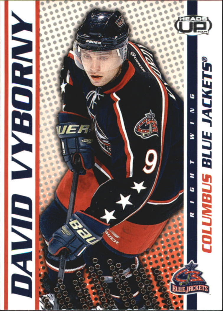 2003-04 Pacific Heads Up #30 David Vyborny