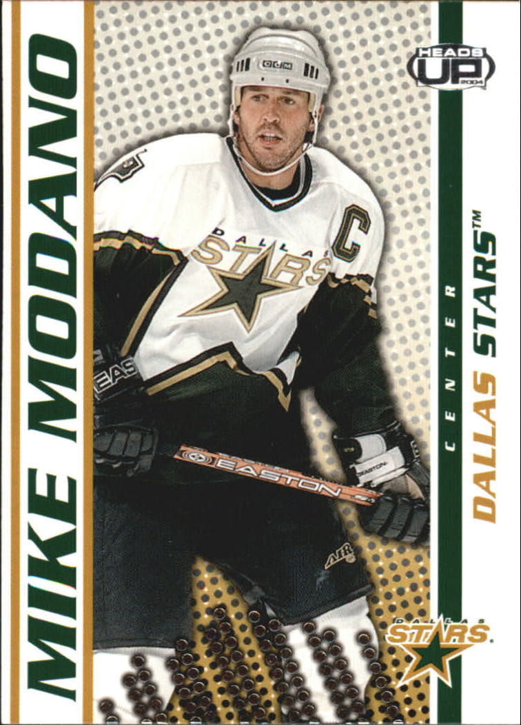 2003-04 Pacific Heads Up #32 Mike Modano