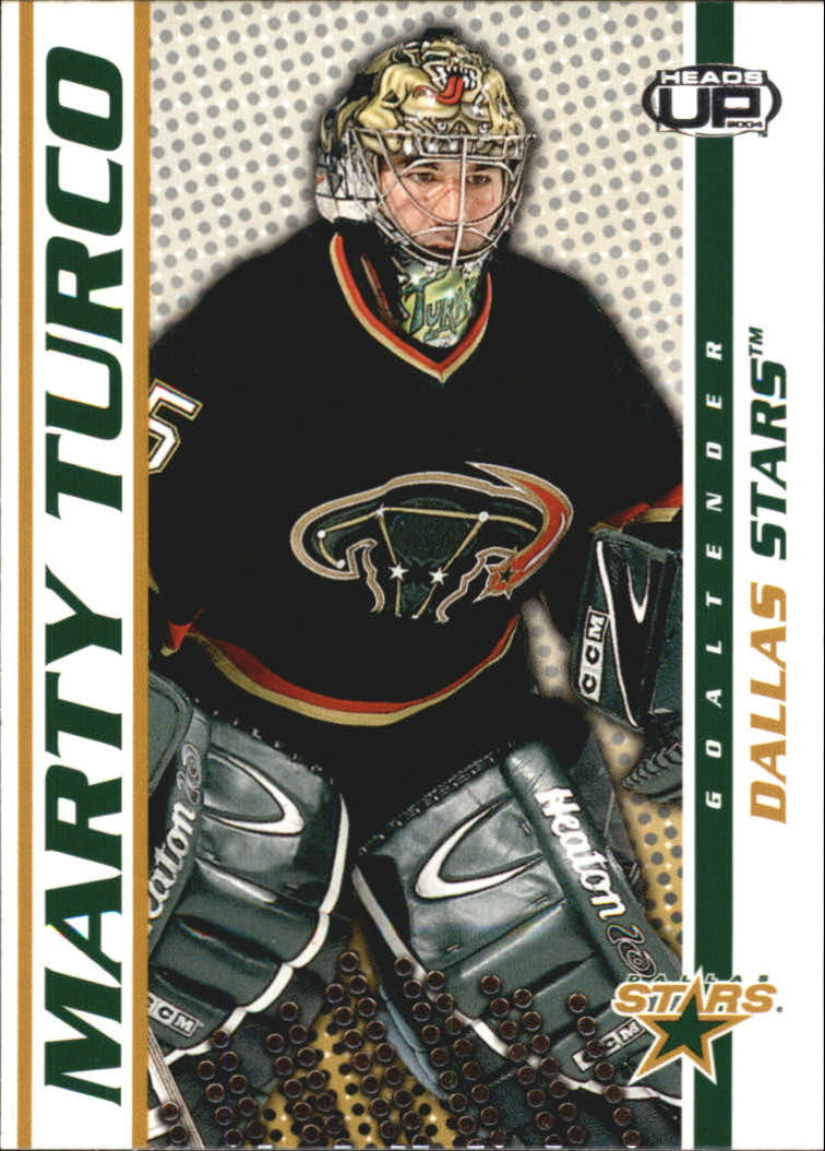 2003-04 Pacific Heads Up #33 Marty Turco