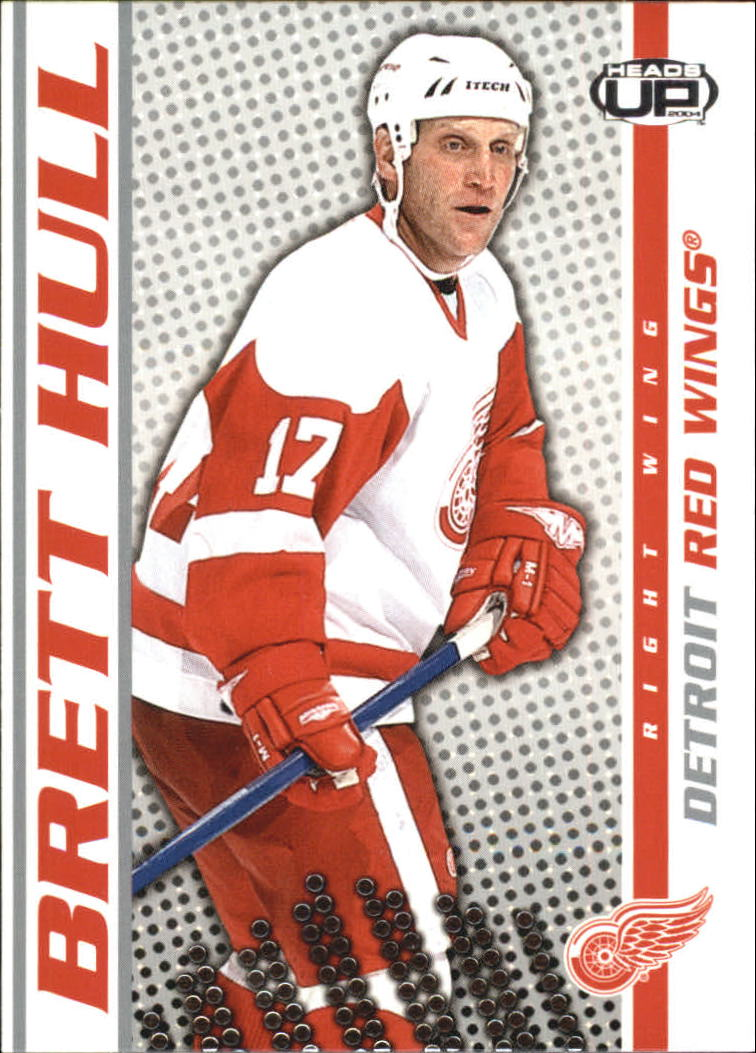 2003-04 Pacific Heads Up #36 Brett Hull