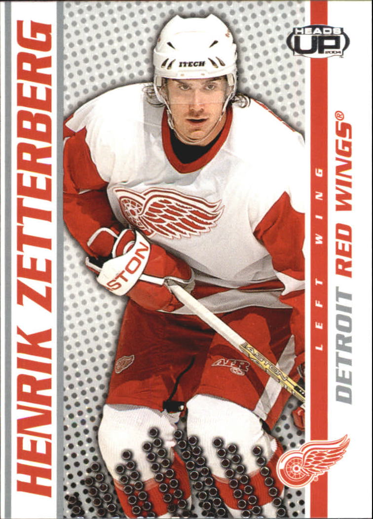 2003-04 Pacific Heads Up #39 Henrik Zetterberg