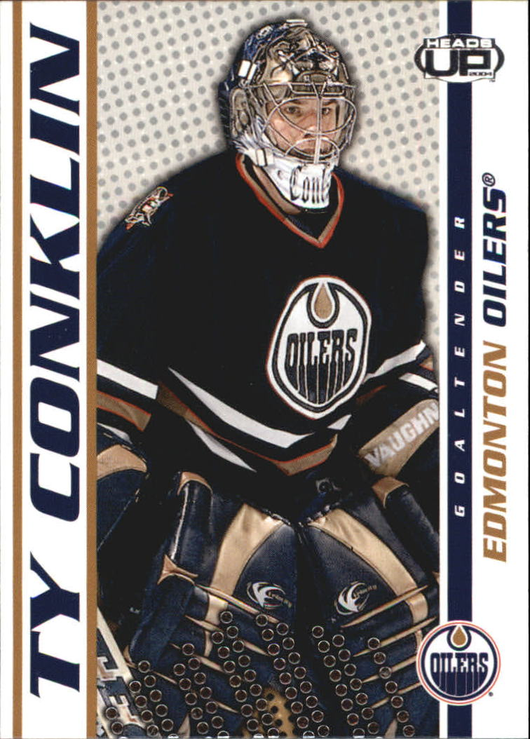 2003-04 Pacific Heads Up #40 Ty Conklin