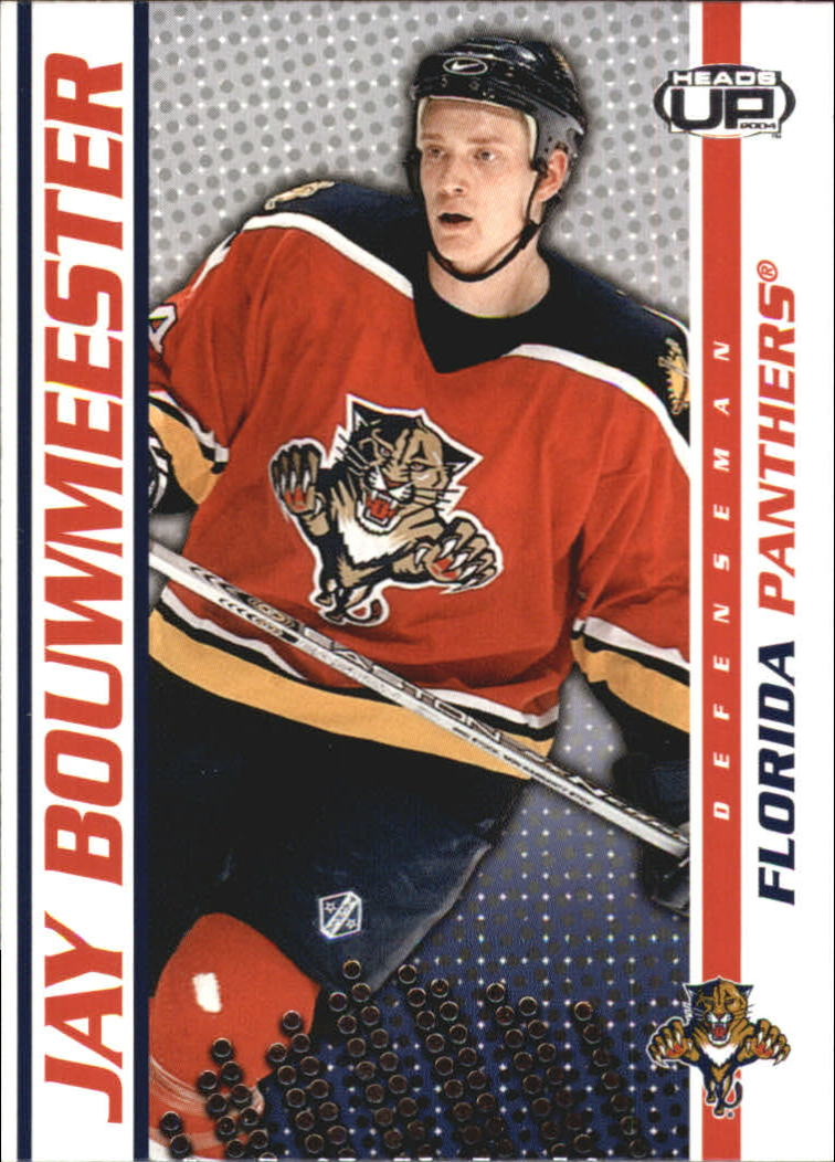 2003-04 Pacific Heads Up #43 Jay Bouwmeester