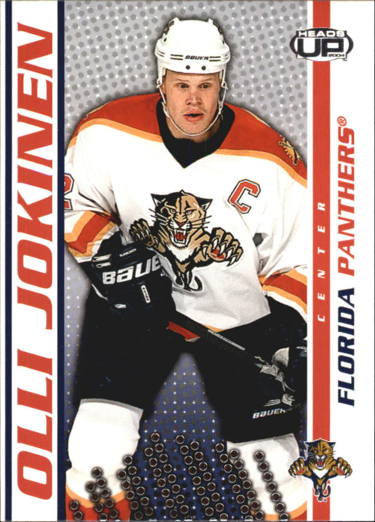 2003-04 Pacific Heads Up #44 Olli Jokinen