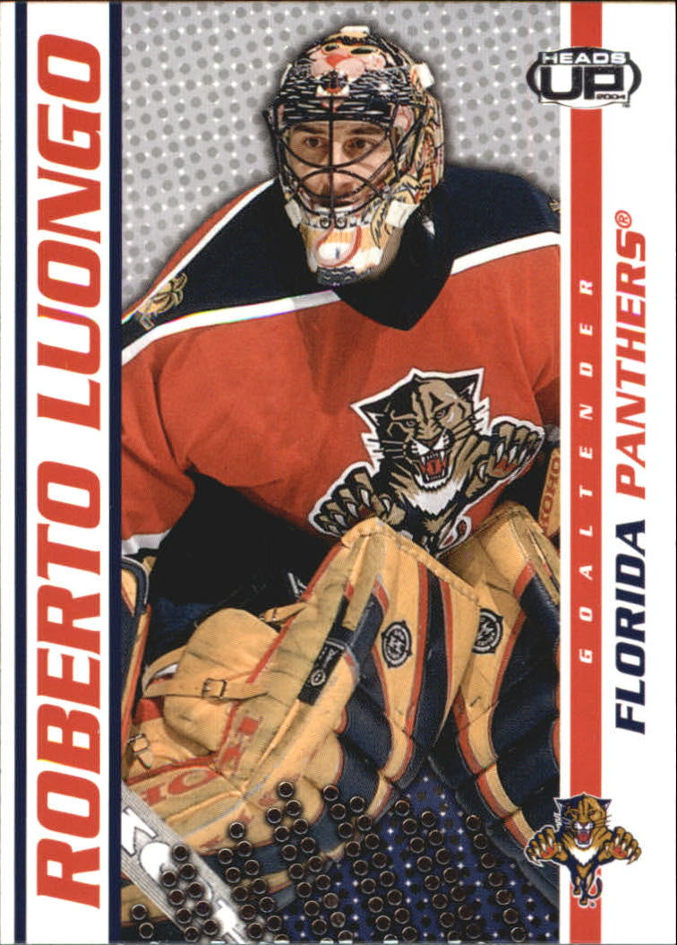 2003-04 Pacific Heads Up #45 Roberto Luongo