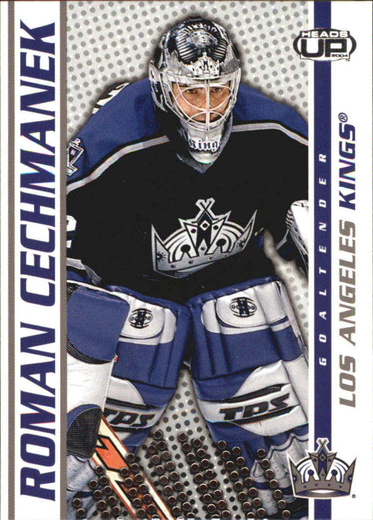 2003-04 Pacific Heads Up #46 Roman Cechmanek