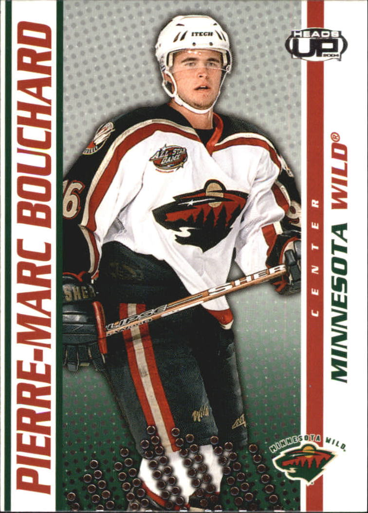 2003-04 Pacific Heads Up #49 Pierre-Marc Bouchard