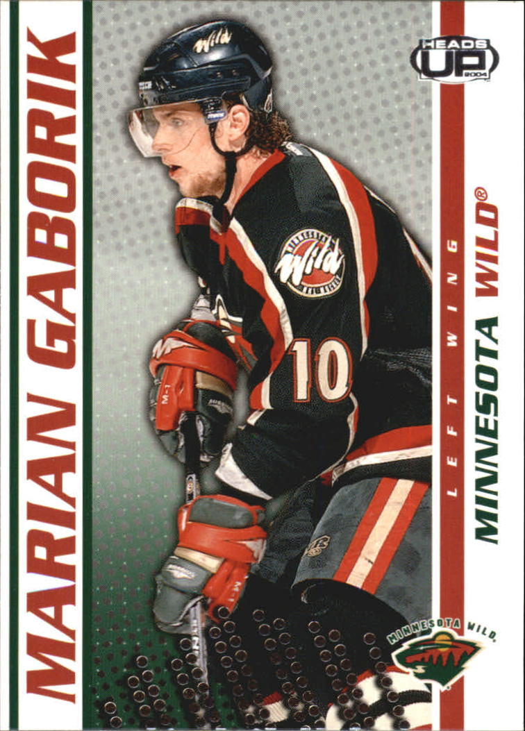 2003-04 Pacific Heads Up #50 Marian Gaborik