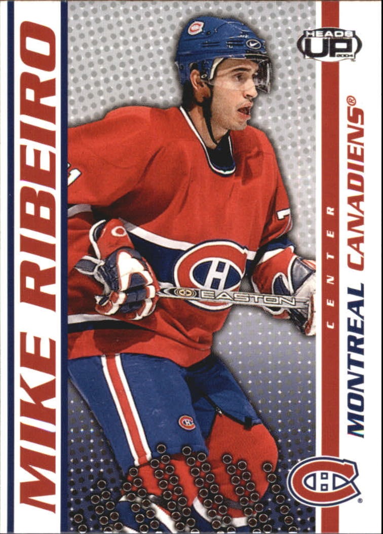 2003-04 Pacific Heads Up #53 Mike Ribeiro
