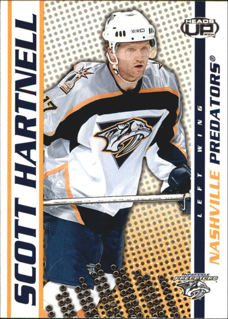 2003-04 Pacific Heads Up #56 Scott Hartnell