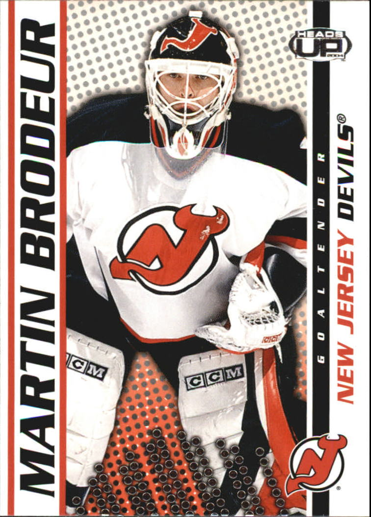 2003-04 Pacific Heads Up #58 Martin Brodeur
