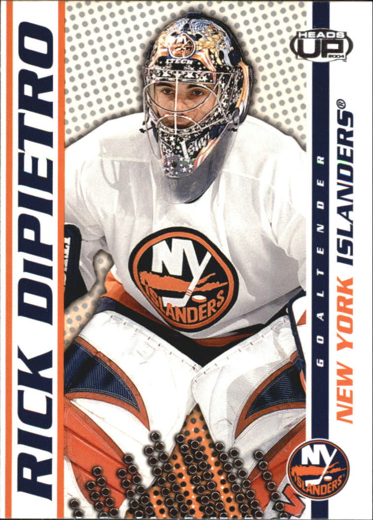 2003-04 Pacific Heads Up #62 Rick DiPietro