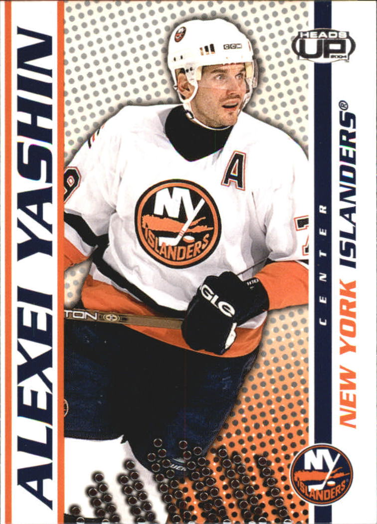 2003-04 Pacific Heads Up #64 Alexei Yashin