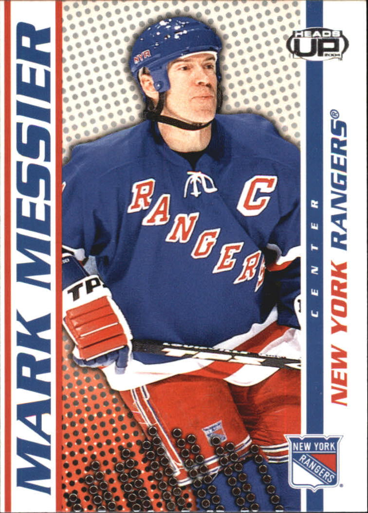 2003-04 Pacific Heads Up #67 Mark Messier