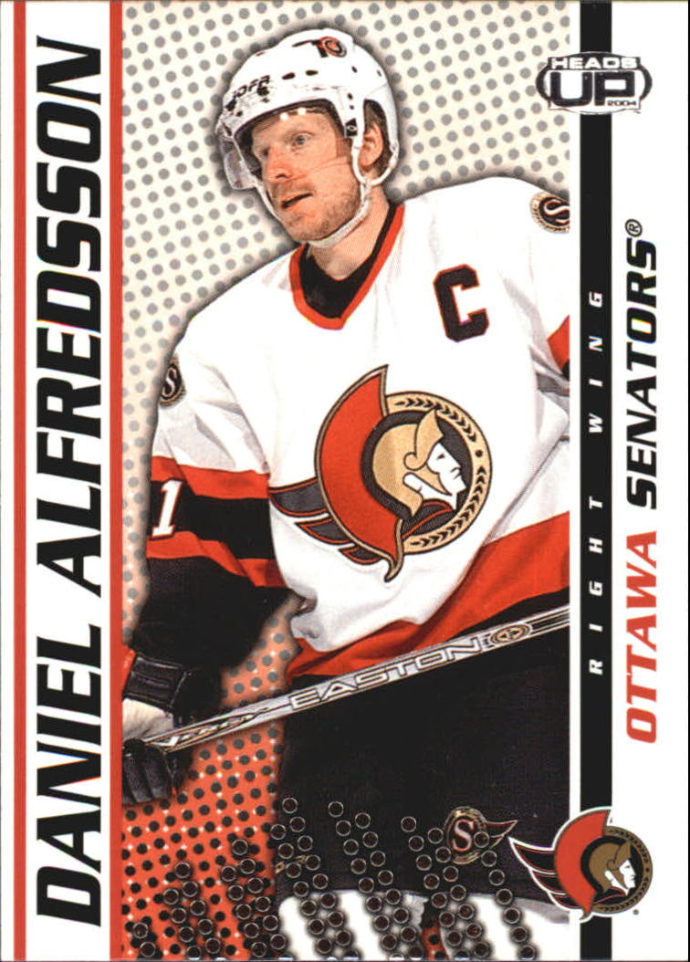 2003-04 Pacific Heads Up #68 Daniel Alfredsson
