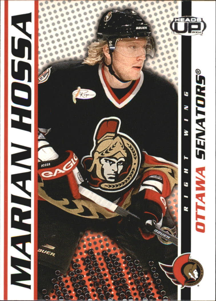 2003-04 Pacific Heads Up #69 Marian Hossa