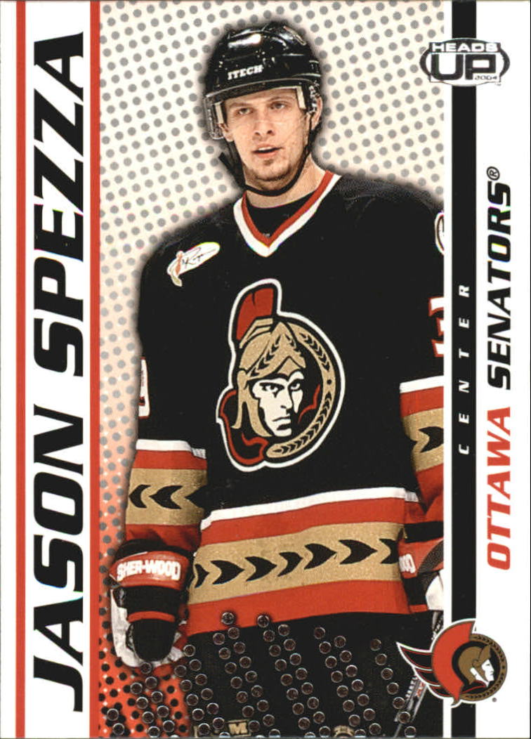 2003-04 Pacific Heads Up #71 Jason Spezza