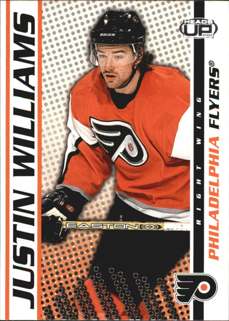2003-04 Pacific Heads Up #75 Justin Williams