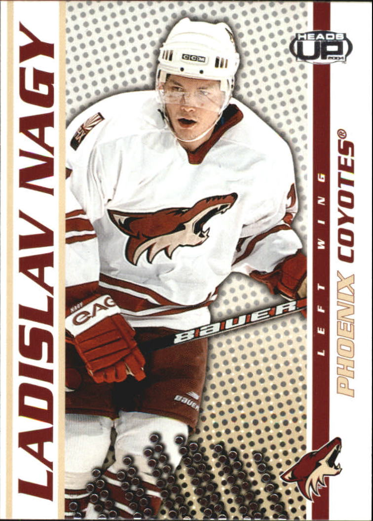 2003-04 Pacific Heads Up #77 Ladislav Nagy