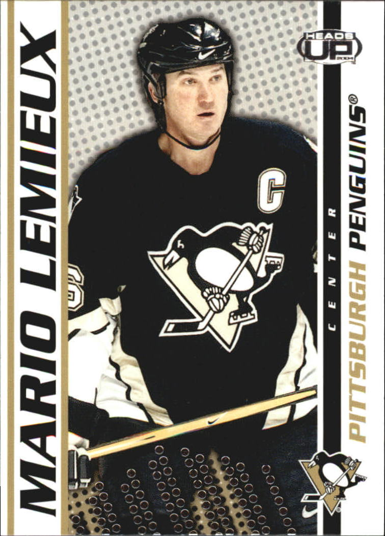 2003-04 Pacific Heads Up #79 Mario Lemieux
