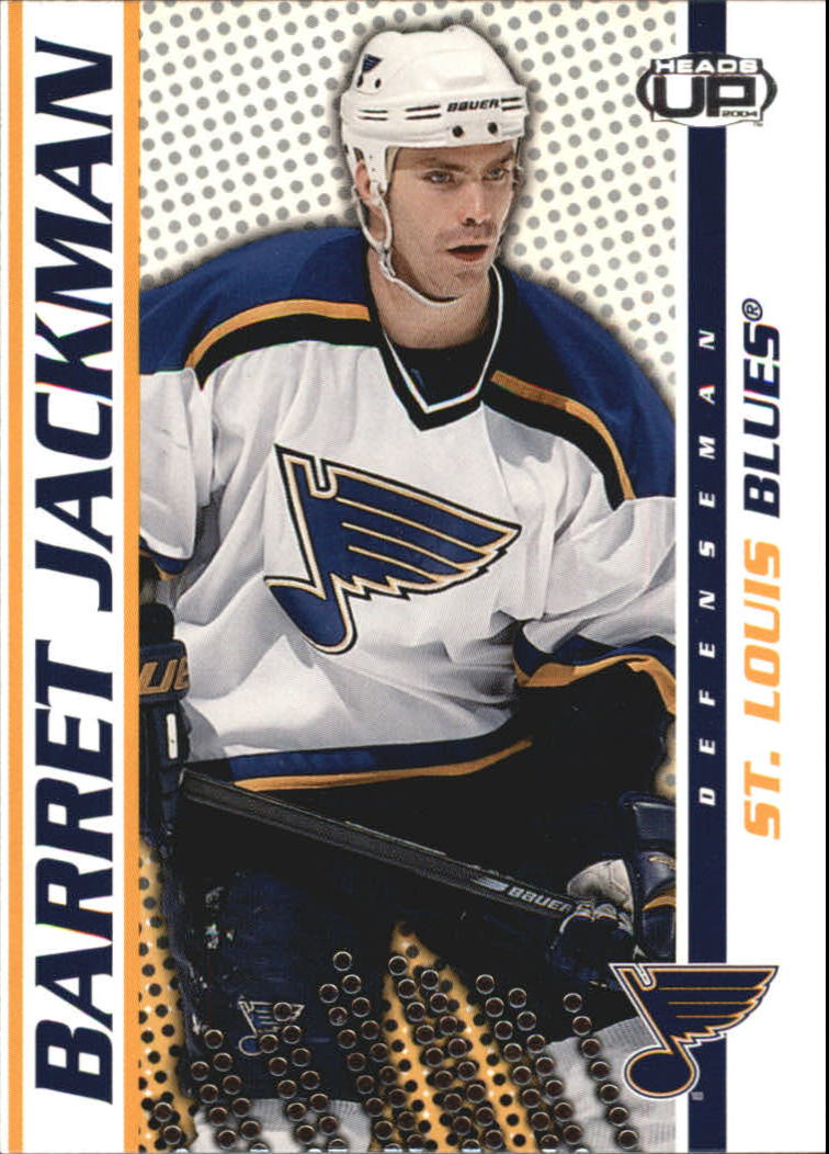 2003-04 Pacific Heads Up #80 Barret Jackman