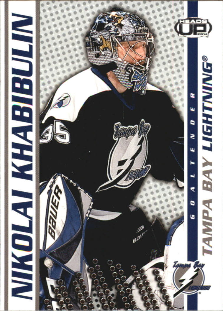 2003-04 Pacific Heads Up #86 Nikolai Khabibulin