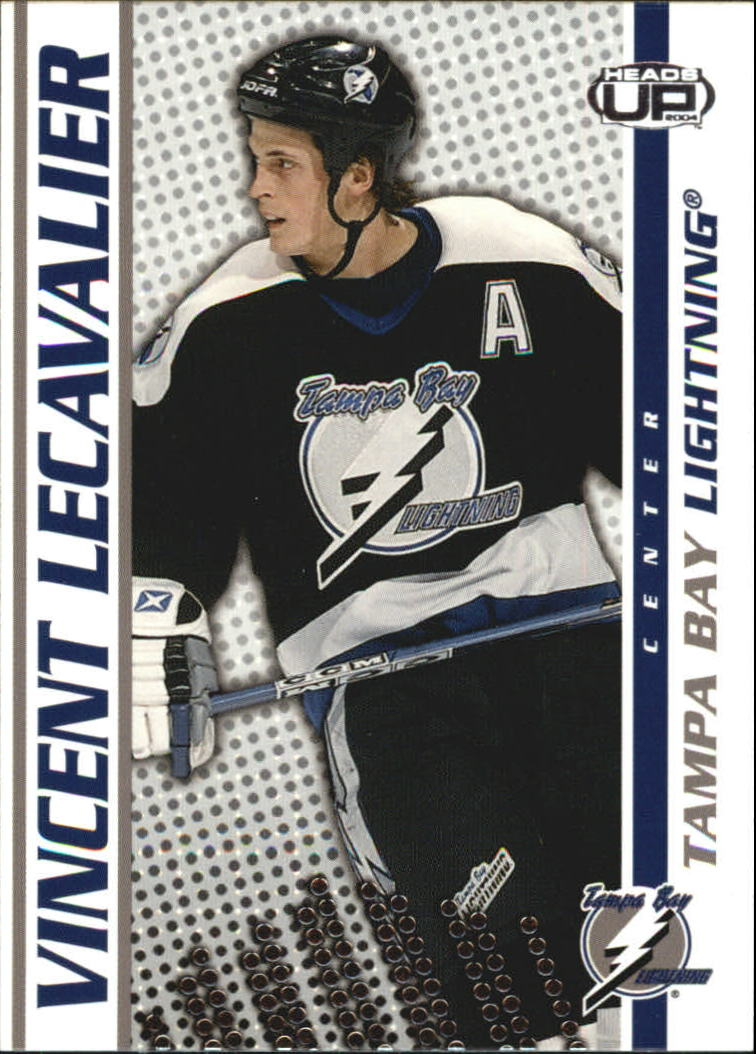 2003-04 Pacific Heads Up #87 Vincent Lecavalier