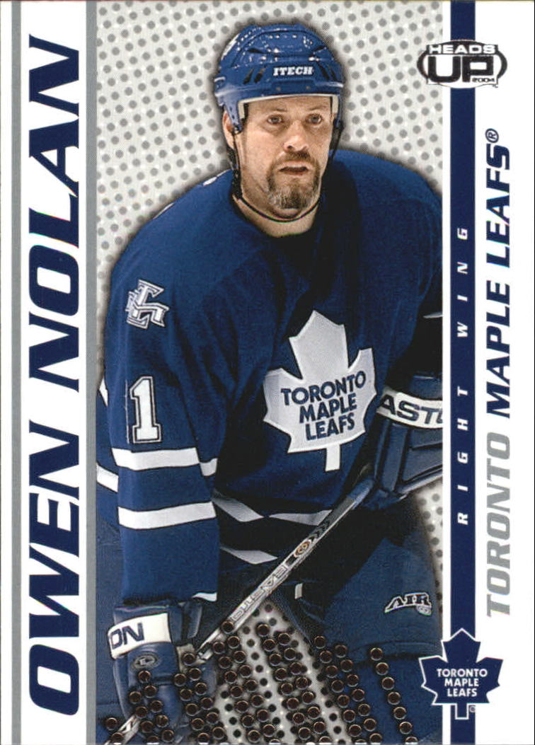 2003-04 Pacific Heads Up #92 Owen Nolan