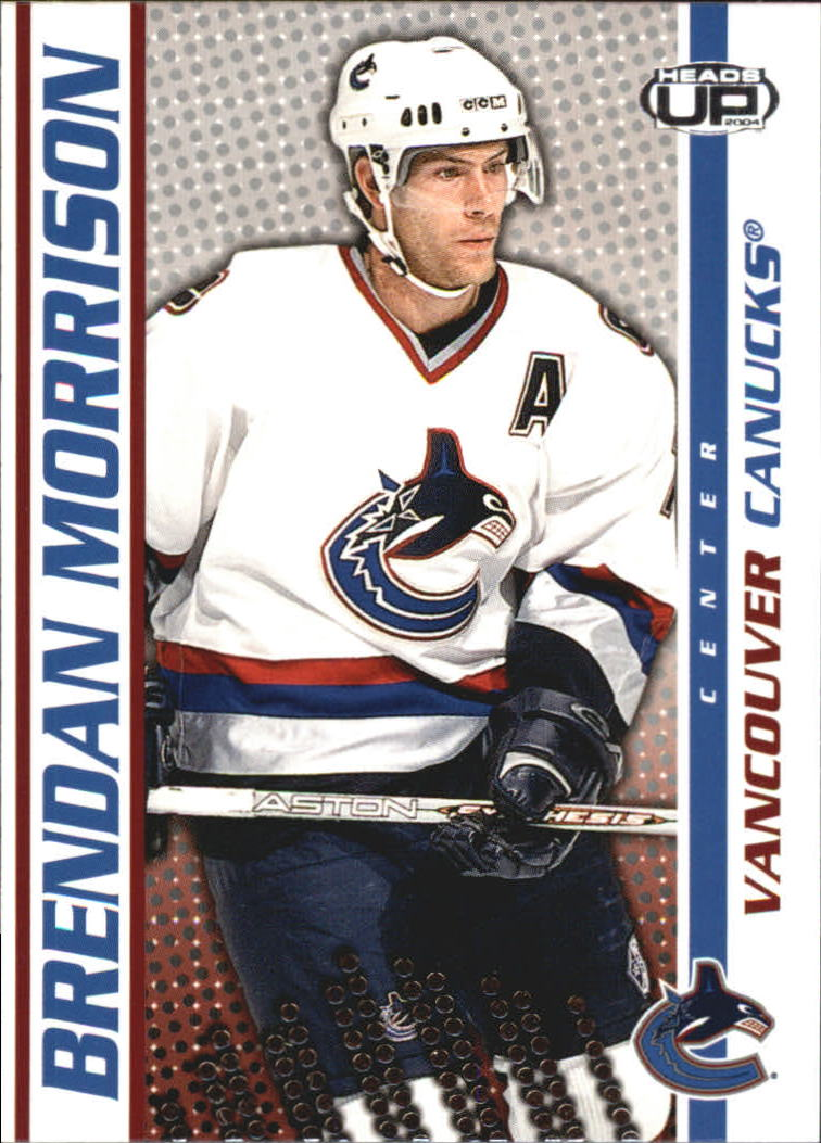 2003-04 Pacific Heads Up #97 Brendan Morrison