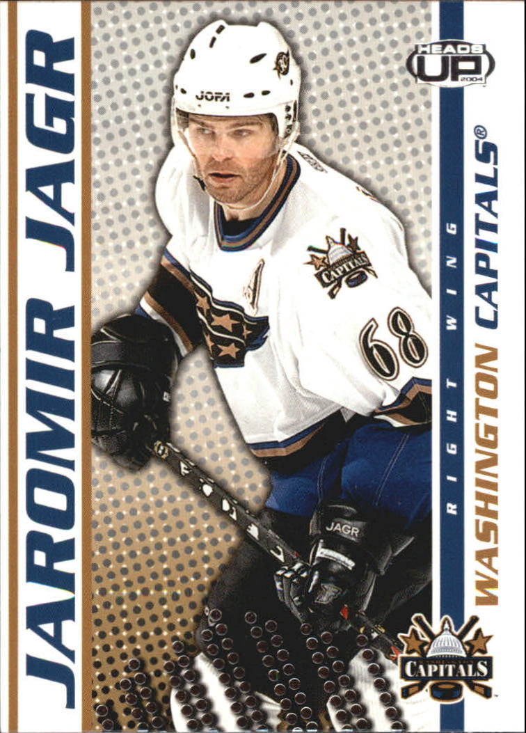 2003-04 Pacific Heads Up #99 Jaromir Jagr