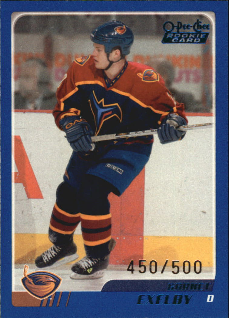 2003-04 O-Pee-Chee Blue #320 Garnet Exelby