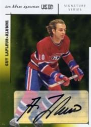 2003-04 ITG Used Signature Series Autographs Gold #GL Guy Lafleur