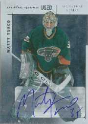 2003-04 ITG Used Signature Series Autographs #MT Marty Turco
